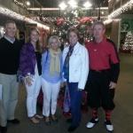 Rick, Kelsey, & Kathy Morgan; Mrs. Guru @ Punta Gorda